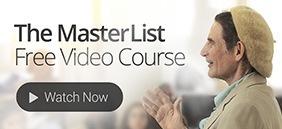Dr Cousens Master List Video Course