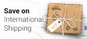 Save international shipping
